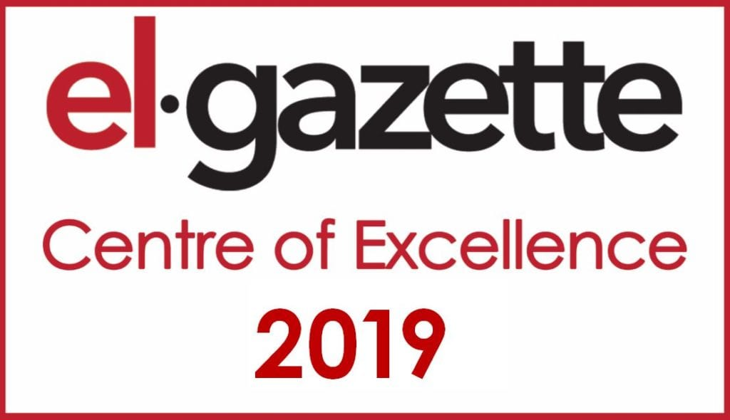 el gazette centre of excellence certification
