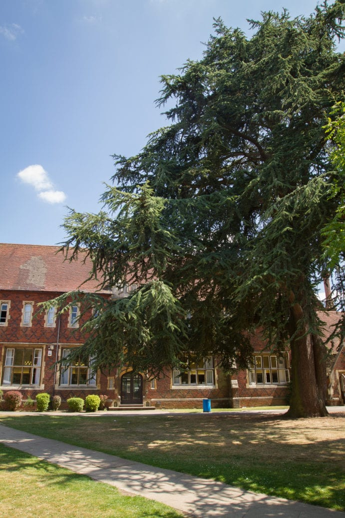 Hockerill College, where Sir Henry residential English summer camp is based