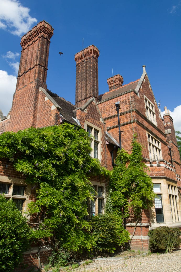 Red brick buildings of Ridley Hall College, base for Sir Christopher summer camp