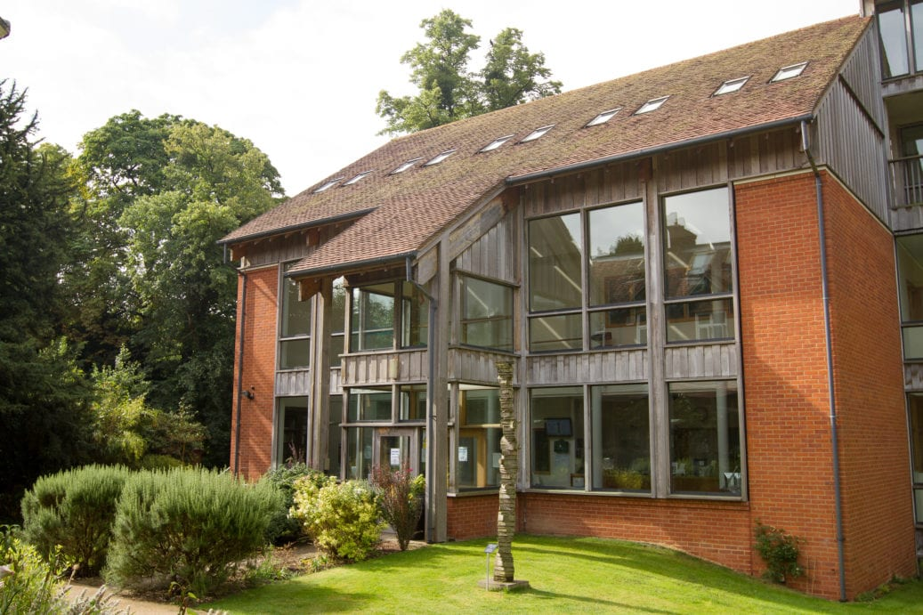 One of the buildings on the Sir Laurence campus at Lucy Cavendish college, Cambridge