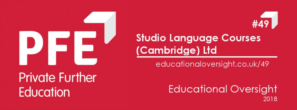 Studio Cambridge certification by Private Further Education