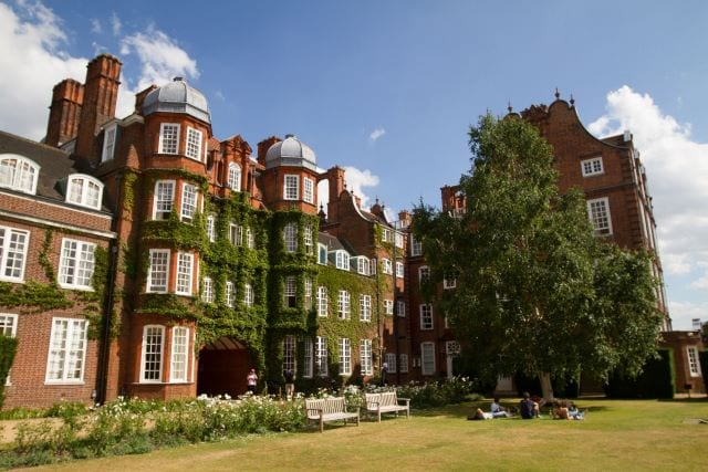 Newnham College, campus for Sir Christopher residential English summer camp