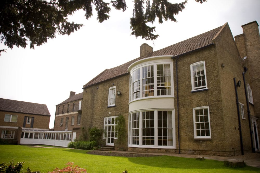 Residential building in King's Ely at Sir Edward residential English summer camp