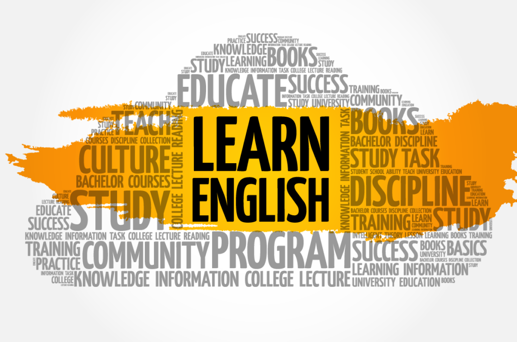 Learn English Word Cloud